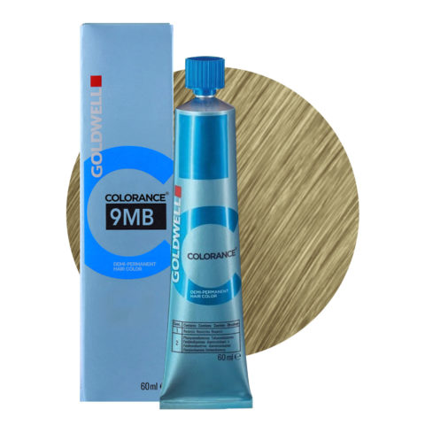 9MB Very light jade blonde Goldwell Colorance Cool blondes tb 60ml