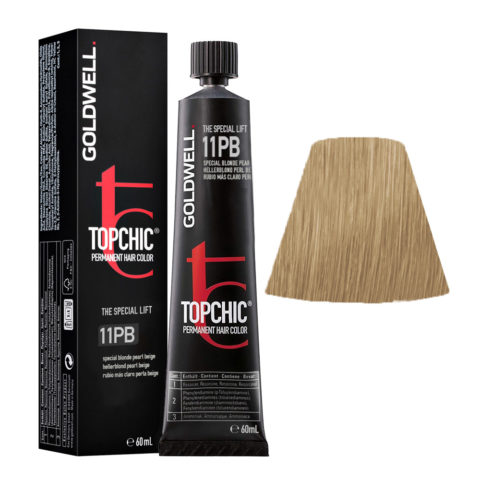 11PB Special blonde pearl beige Goldwell Topchic Special lift tb 60ml