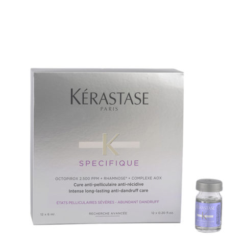 Kerastase Specifique Cure Anti pelliculaire 12x6ml - antidandruff vials
