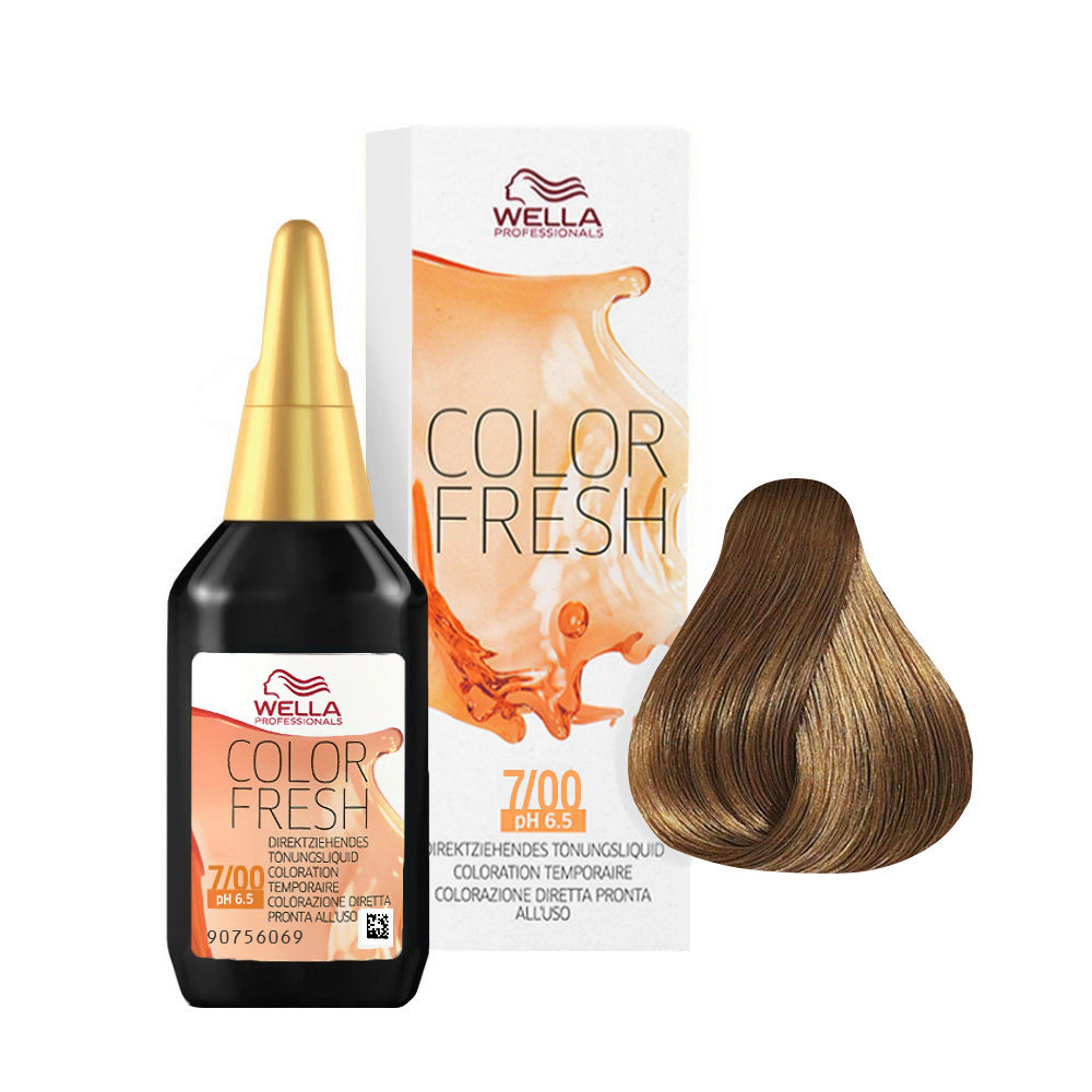 7/00 Mid blonde natural Wella Color fresh 75ml