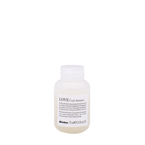 Davines Essential hair care Love curl Shampoo 75ml - Elasticising shampoo