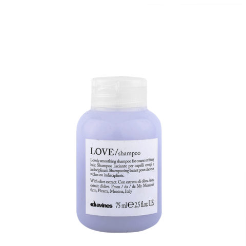 Davines Essential hair care Love smooth Shampoo 75ml - Smoothing shampoo