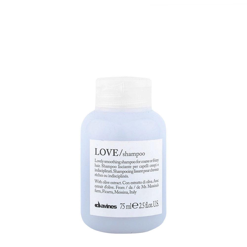 Davines Essential hair care Love smooth Shampoo 75ml - Smoothing shampoo