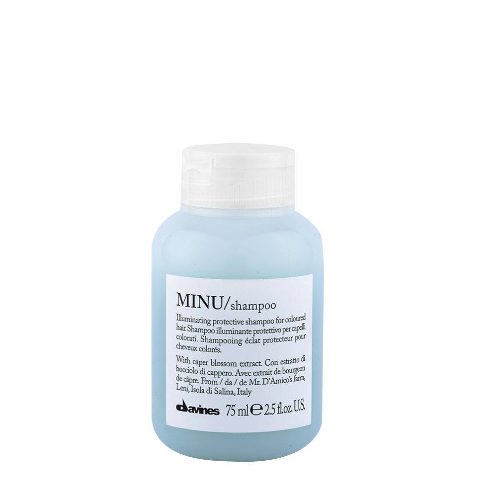 Davines Essential hair care Minu Shampoo 75ml - Illuminating shampoo