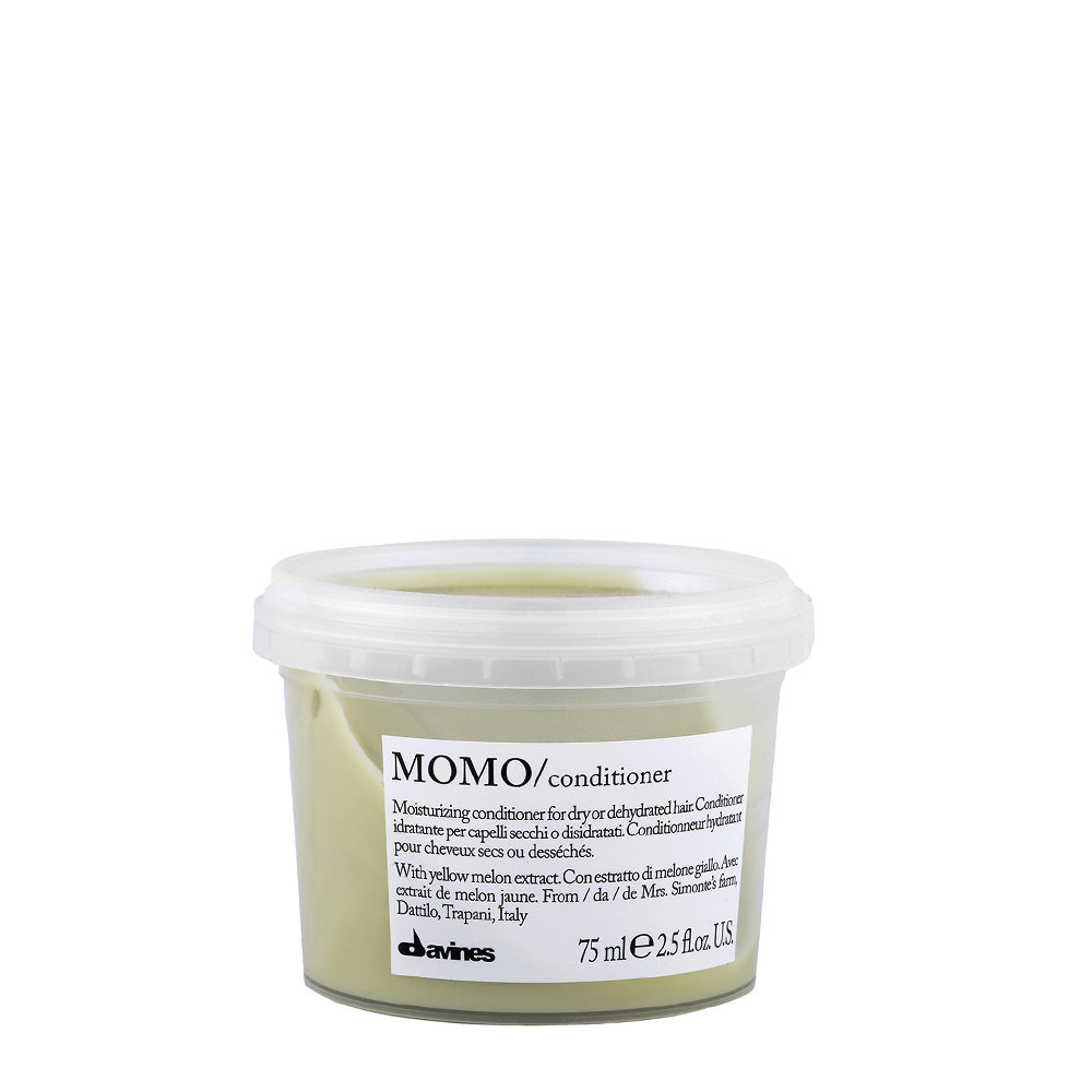 Davines Essential hair care Momo Conditioner 75ml - Moisturizing conditioner