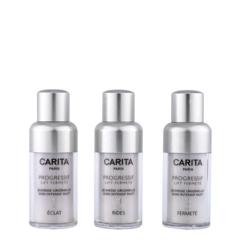 Carita Skincare Progressif Lift Fermetè Jeunesse Intensif Nuit 3X15ml - intensive programme for tired skin