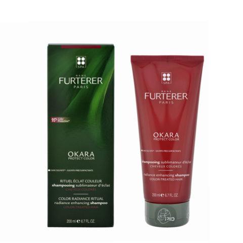 René Furterer Okara Radiance Enhancing Shampoo 200ml - for coloured hair