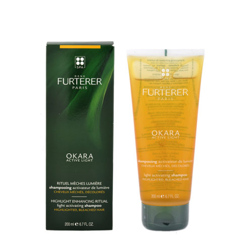 René Furterer Okara Light Activating Shampoo 200ml - highlighted, bleached hair