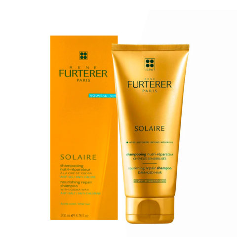 René Furterer Solaire Nourishing repair shampoo 200ml