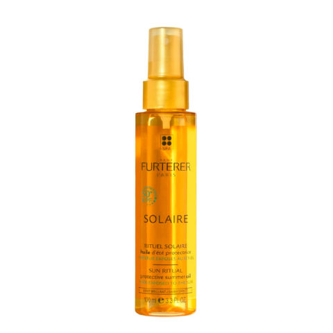 René Furterer Solaire Protective summer oil KPF50+, 100ml