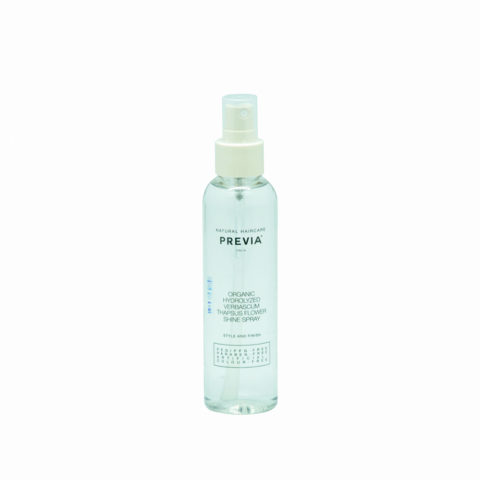 Previa Finish Organic Hydrolized Verbascum Thapsus Flower Shine spray 150ml