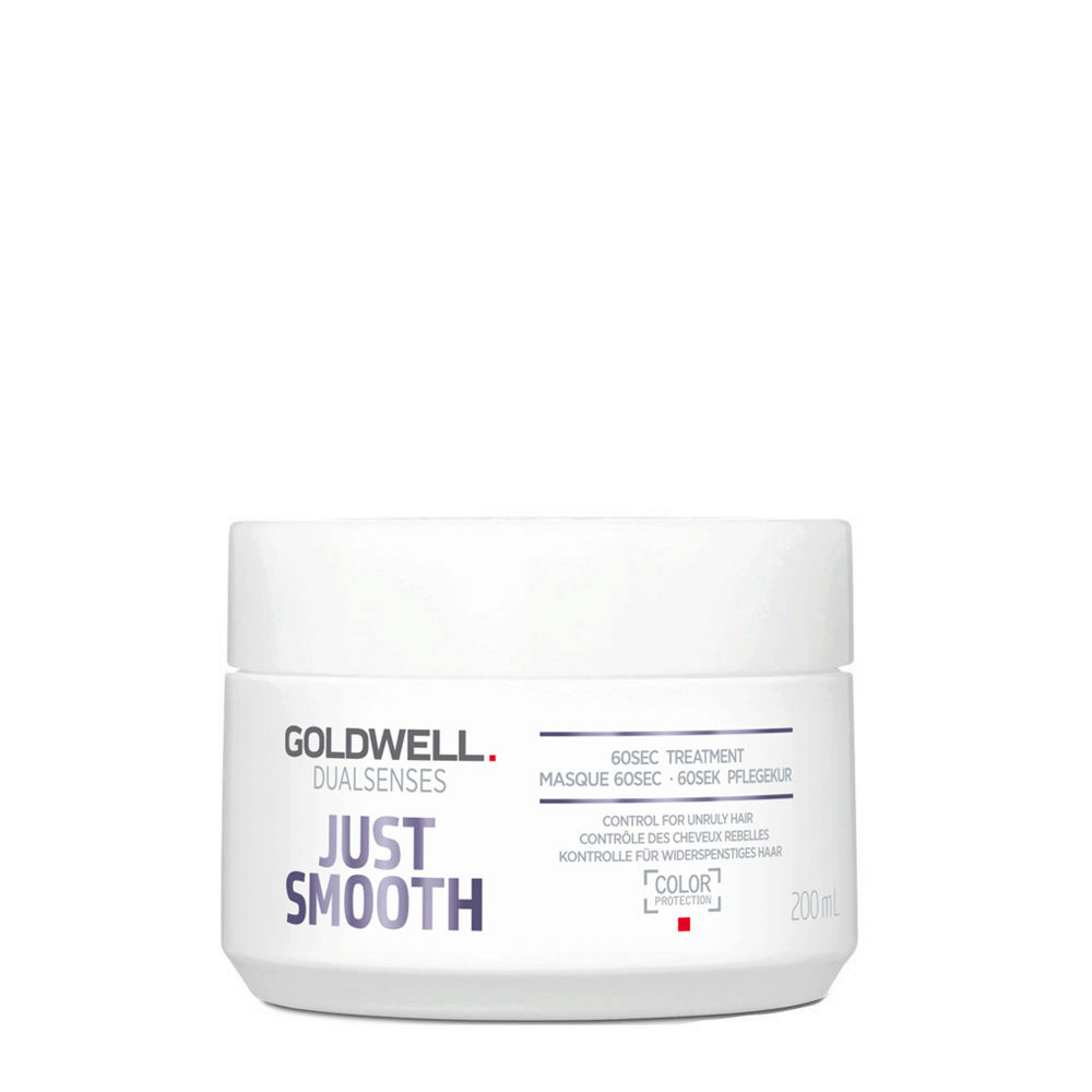 Goldwell Dualsenses Just Smooth 60 sec Treatment 200ml - Anti-Frizz Mask
