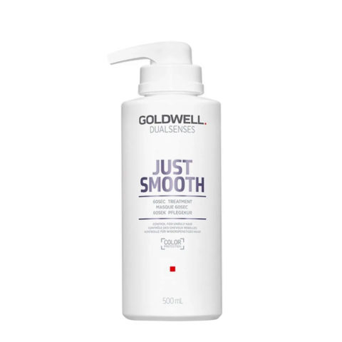 Goldwell Dualsenses Just Smooth 60 sec Treatment 500ml - Anti-Frizz Mask