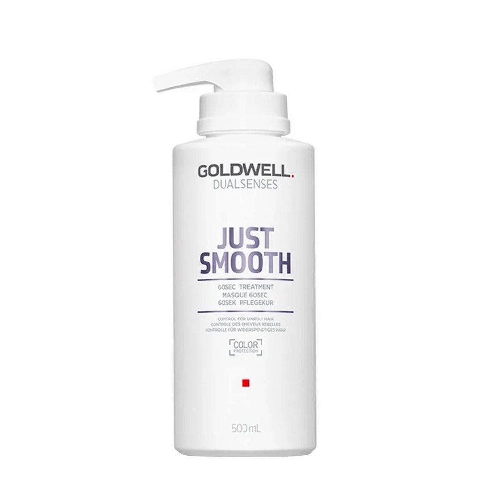 Goldwell Dualsenses Just Smooth 60 sec Treatment 500ml - Anti-Frizz Mask