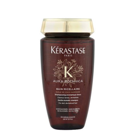 Kerastase Aura Botanica Bain Micellaire 250ml - gentle aromatic shampoo for dull, devitalized hair