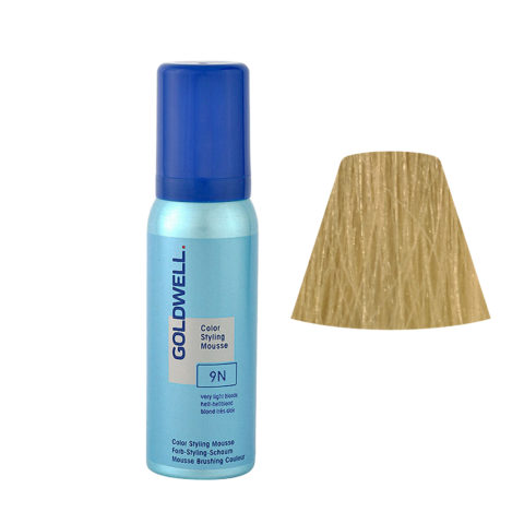 9N Very light blonde Goldwell Color Styling Mousse 75ml