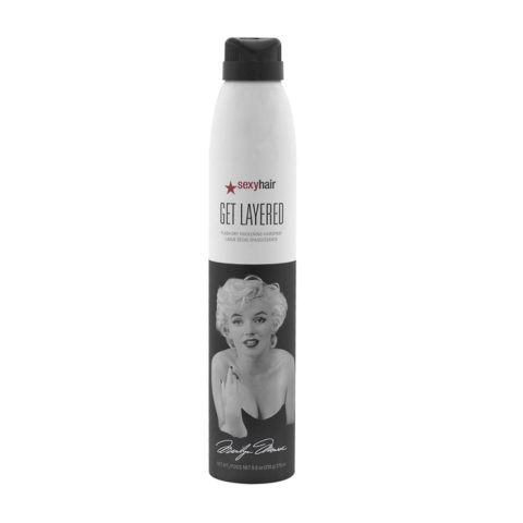 Big Sexy hair Get Layered Limited Ed Marilyn Monroe 275ml - medium hairspray