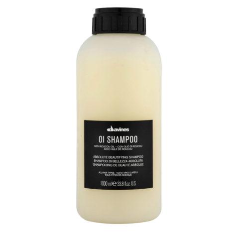 Davines OI Shampoo 1000ml - multibenefit shampoo