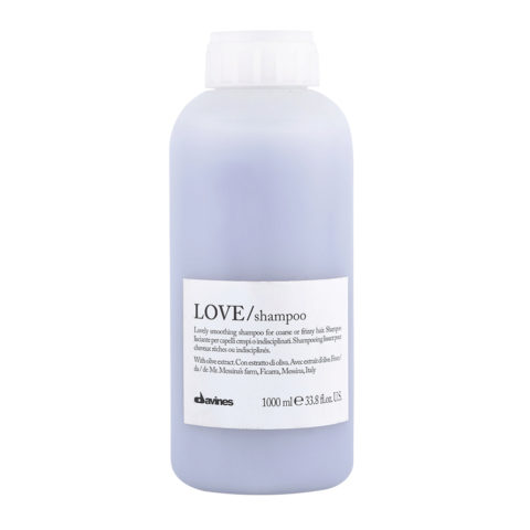 Davines Essential hair care Love smooth Shampoo 1000ml - Smoothing shampoo