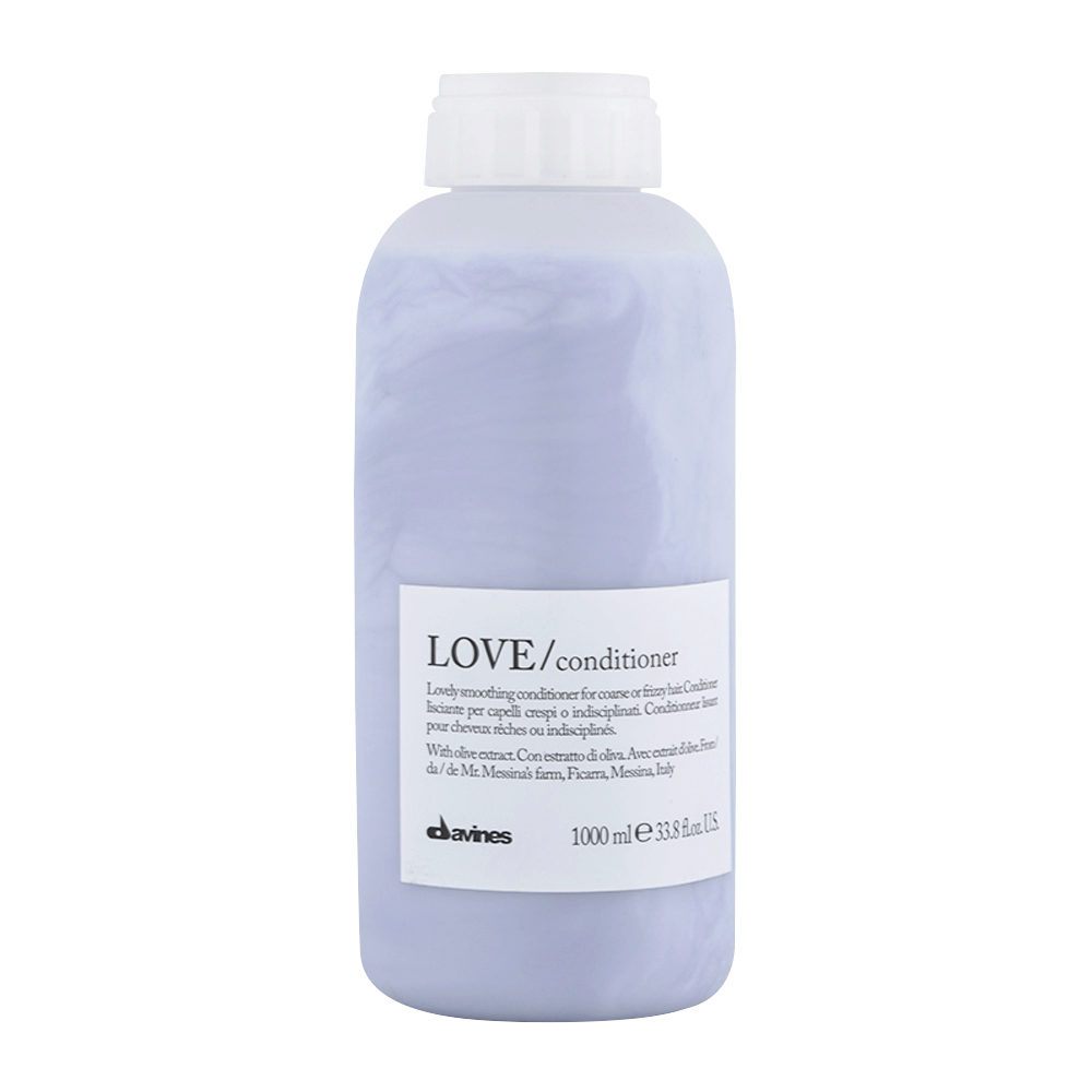 Davines Essential hair care Love smooth Conditioner 1000ml - Smoothing conditioner