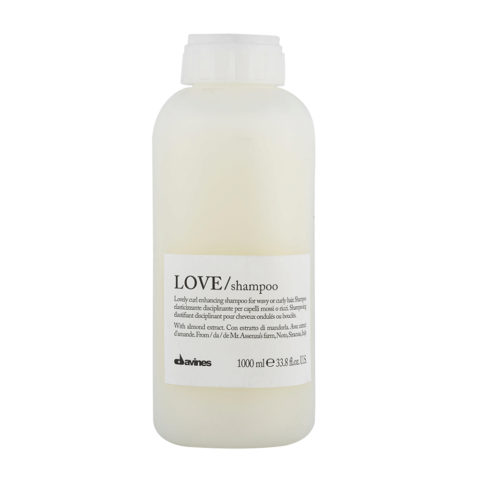 Davines Essential hair care Love curl Shampoo 1000ml - Elasticising shampoo