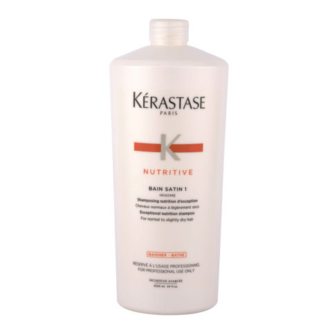 Kerastase Nutritive Bain satin 1, 1000ml - shampoo for normal or dry hair