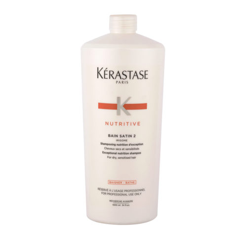Kerastase Nutritive Shampoo For Dry And Damaged Hair 1000ml