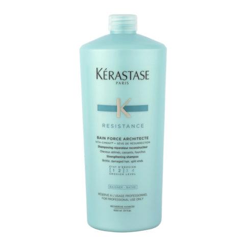 Kerastase Résistance Bain Force Architecte 1000ml - restructuring shampoo