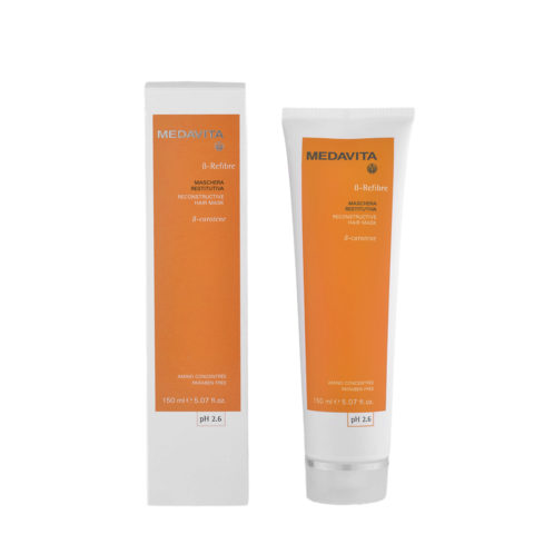 Medavita Lenghts ß-Refibre Reconstructive hair mask pH 2.6  150ml