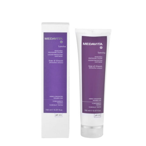 Medavita Lenghts Luxviva Colour protection hair mask pH 3.5  150ml
