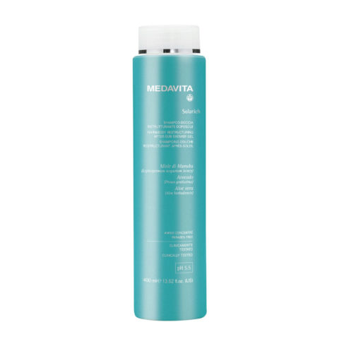 Medavita Lunghezze Solarich Shampoo doccia ristrutturante doposole 400ml