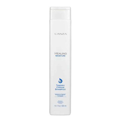 L' Anza Healing Moisture Tamanu Cream Shampoo 300ml - hydrating shampoo