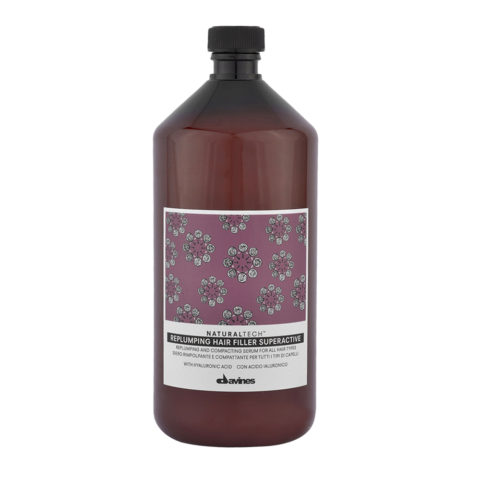 Davines Naturaltech Replumping Hair filler Superactive 1000ml - Pumpling Treatment