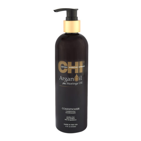 CHI Argan Oil plus Moringa Oil Conditioner 355ml - hydrating conditioner