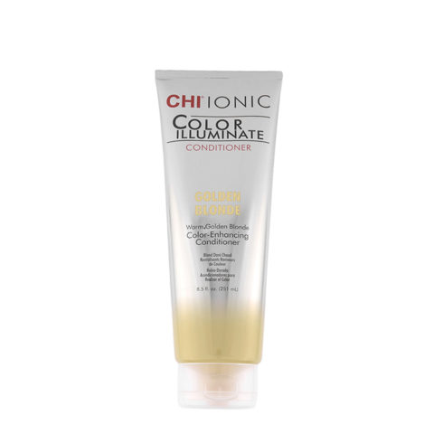 CHI Ionic Color Illuminate Conditioner Golden Blonde 251ml - color enhancing conditioner warm blonde