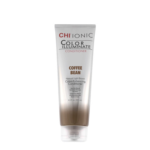 CHI Ionic Color Illuminate Conditioner Coffee Bean 251ml - color enhancing conditioner