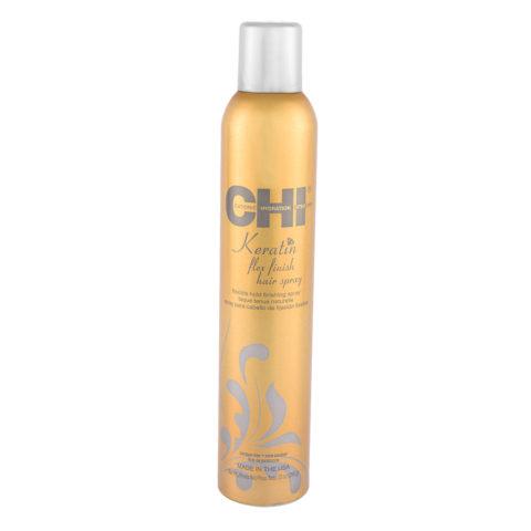 CHI Keratin Flex Finish Hairspray 284gr - Flexible hold