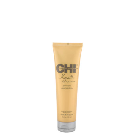 CHI Keratin Styling Cream 133ml - lightweight, conditioning styling cream