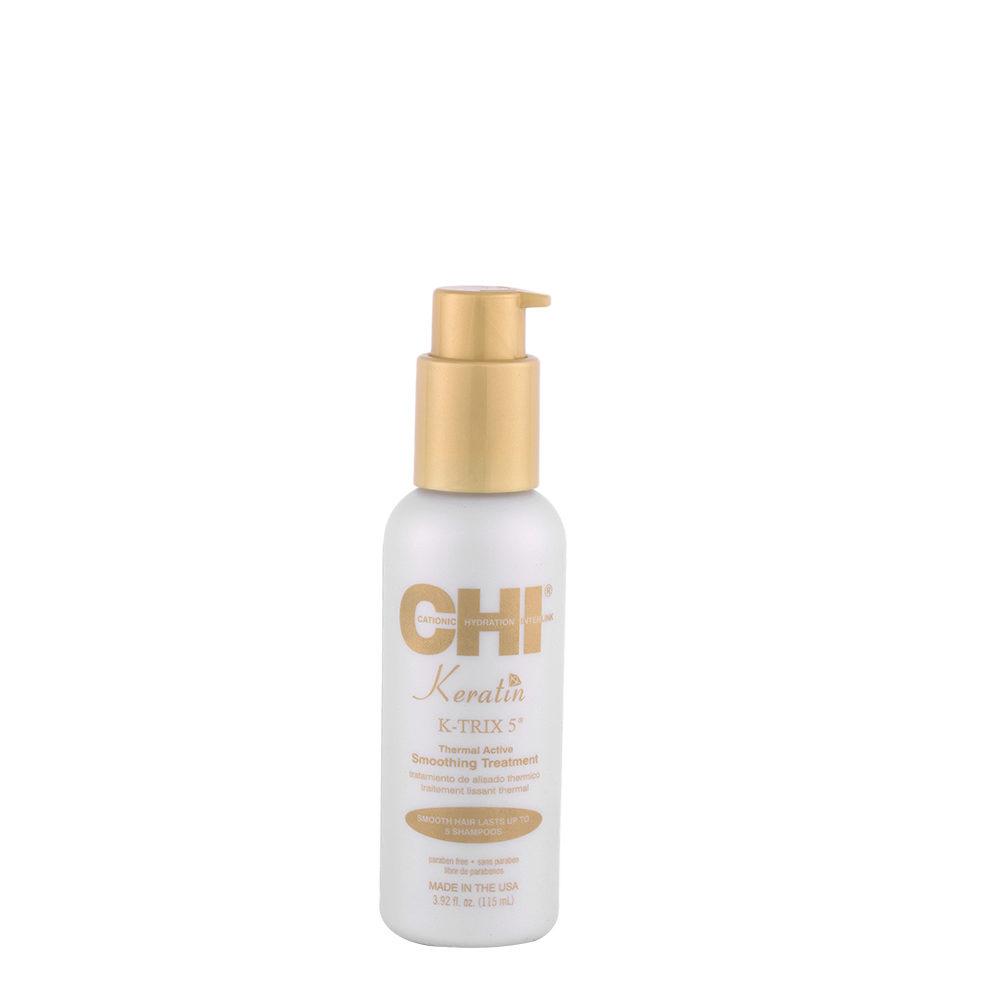 CHI Keratin K-Trix 5 Smoothing Treatment 115ml - antifrizz serum