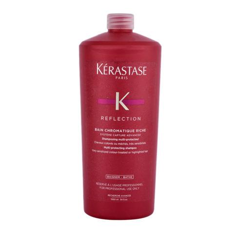Kerastase Reflection Bain Chromatique Riche 1000ml - for very sensitized coloured or highlighted hair