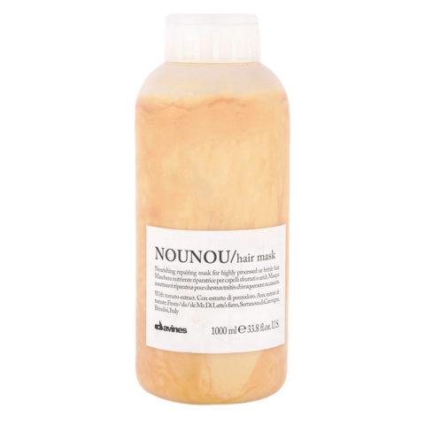 Davines Essential hair care Nounou Hair Mask 1000ml - Nourishing and repairing mask