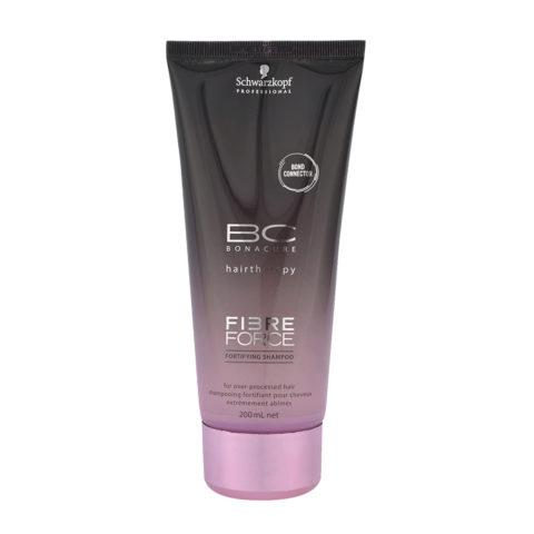Schwarzkopf BC Bonacure Fibre Force Shampoo 200ml - Reparative shampoo