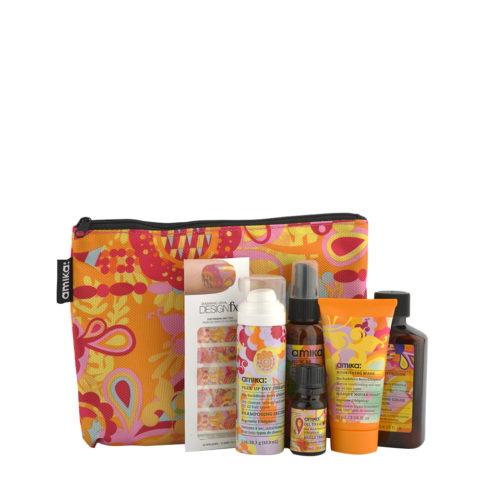 amika: Beauty Junkie Bag - travel kit bag