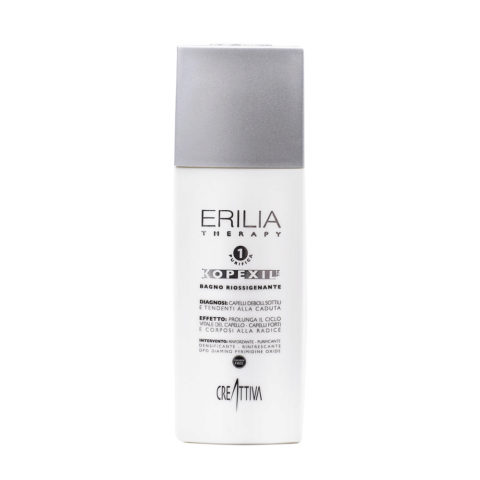Erilia Kopexil Bagno Riossigenante 250ml - hair revitalizer shampoo