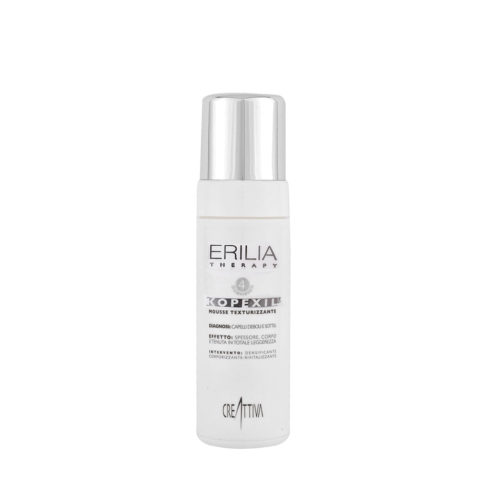 Erilia Kopexil Mousse Texturizzante 150ml - texturizing mousse for fragile hair
