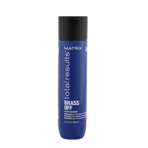 Matrix Total Results Brass Off Shampoo 300ml - neutralizes brassy tones
