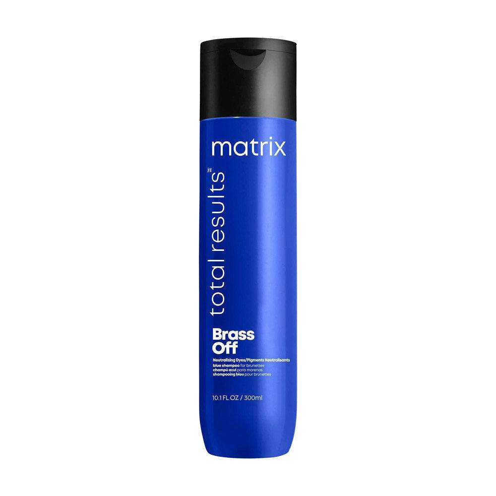 Matrix Total Results Brass Off Shampoo 300ml - neutralizes brassy tones