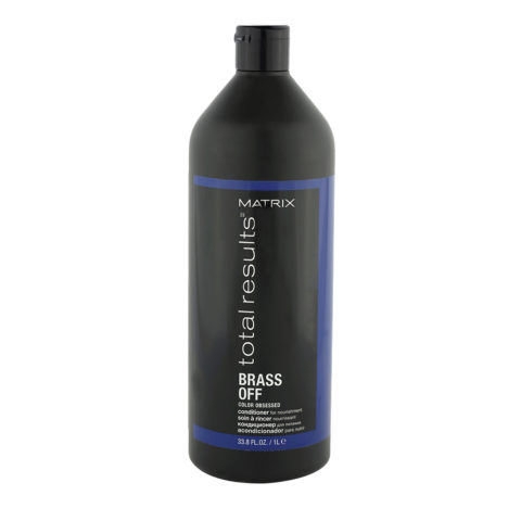Matrix Total Results Brass Off Conditioner 1000ml - neutralizes brassy tones