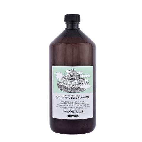Davines Naturaltech Detoxifying Scrub Shampoo 1000ml