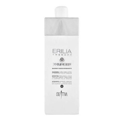 Creattiva Erilia Kopexil Bagno Riossigenante 750ml - hair revitalizer shampoo